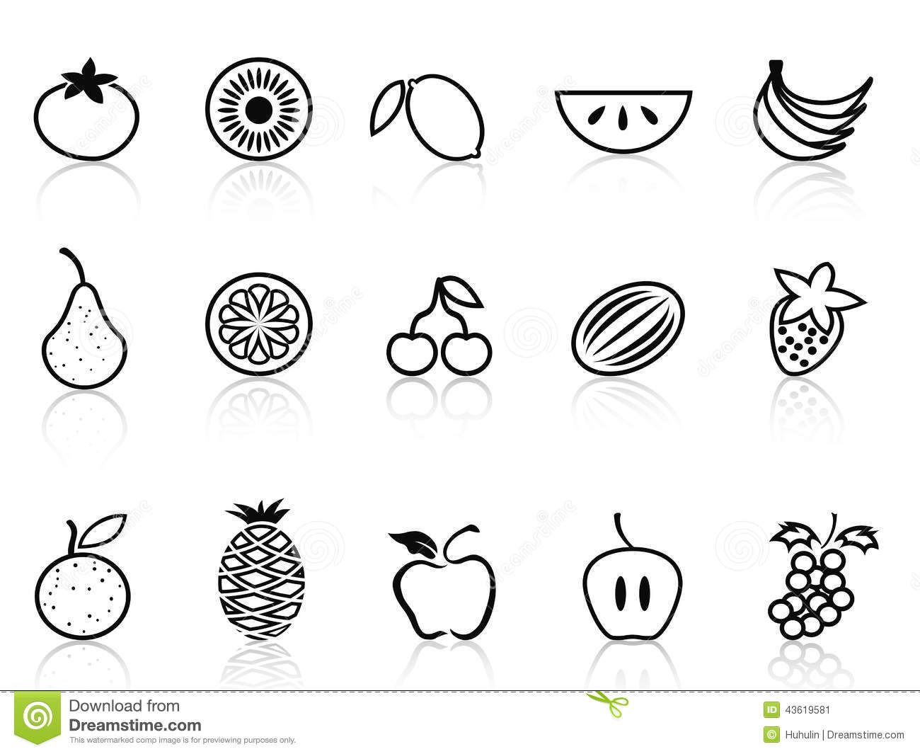 Lemon Images Outline