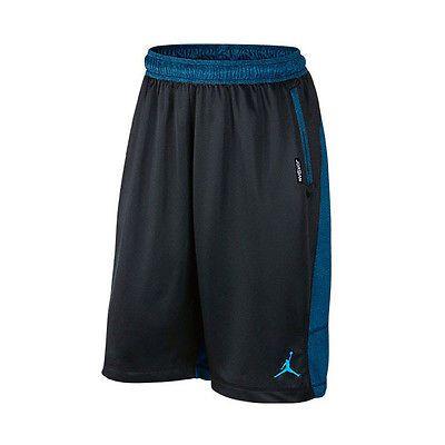 0ad0adfbfc7 Nike Jordan 13 XIII Retro Blue Black Basketball Shorts 659415-010 Mens Size  XL