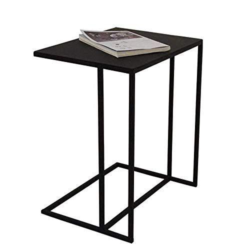 Peachy Zhirong Iron Art Sofa Side Table Laptop Table C Shape Inzonedesignstudio Interior Chair Design Inzonedesignstudiocom