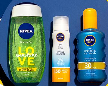 """Concorso Nivea """"Ultimi giorni d'estate"""" vinci kit di prodotti"""