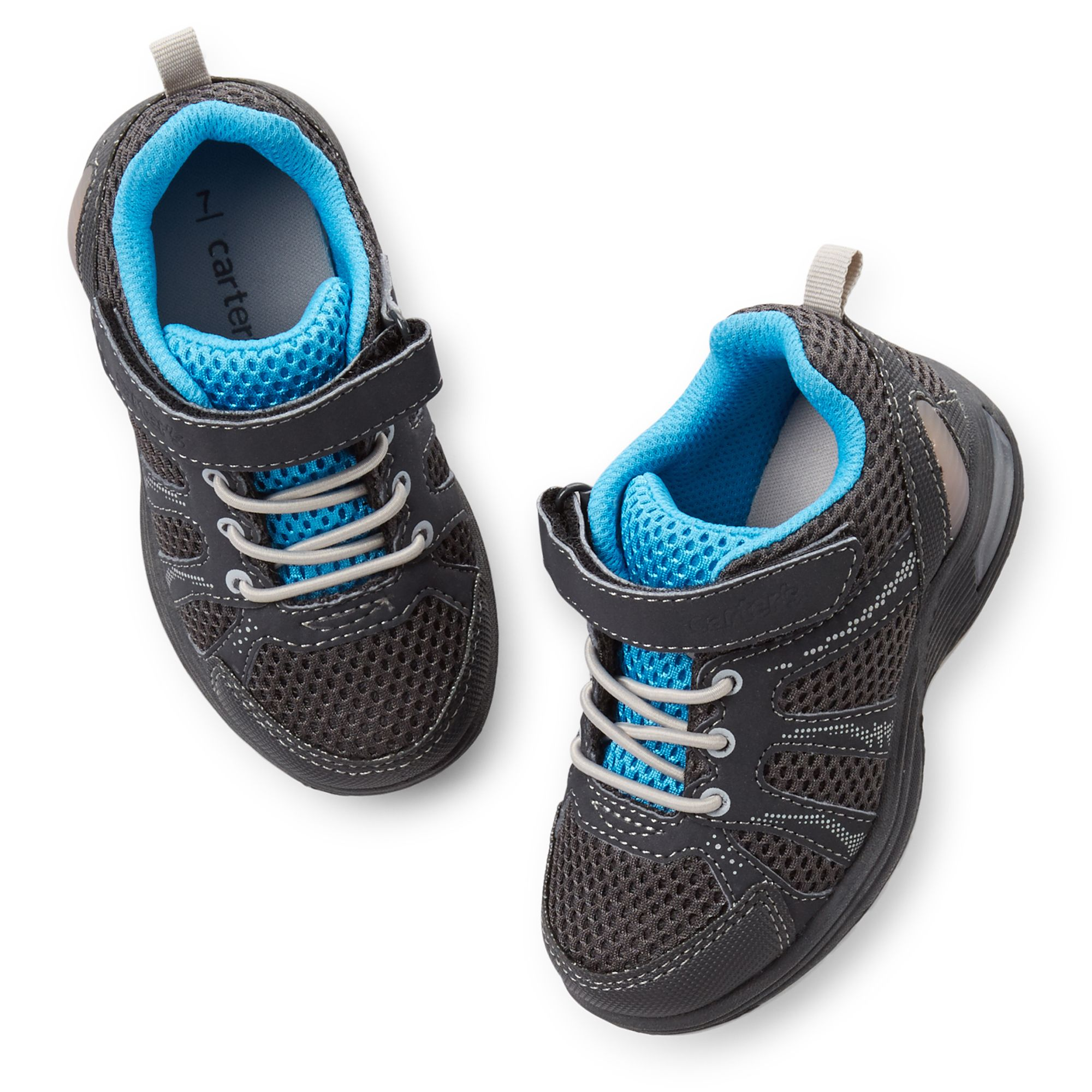 Carter's Boys Light Up Athletic Sneakers: On or off the ...