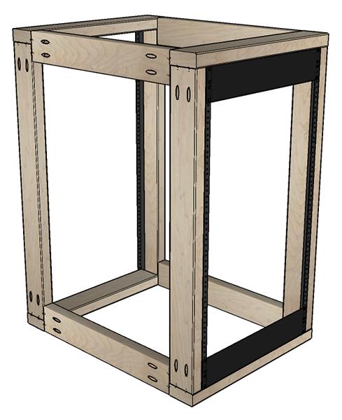 DIY Server Rack Plans | Server rack, Diy rack, Custom pc desk
