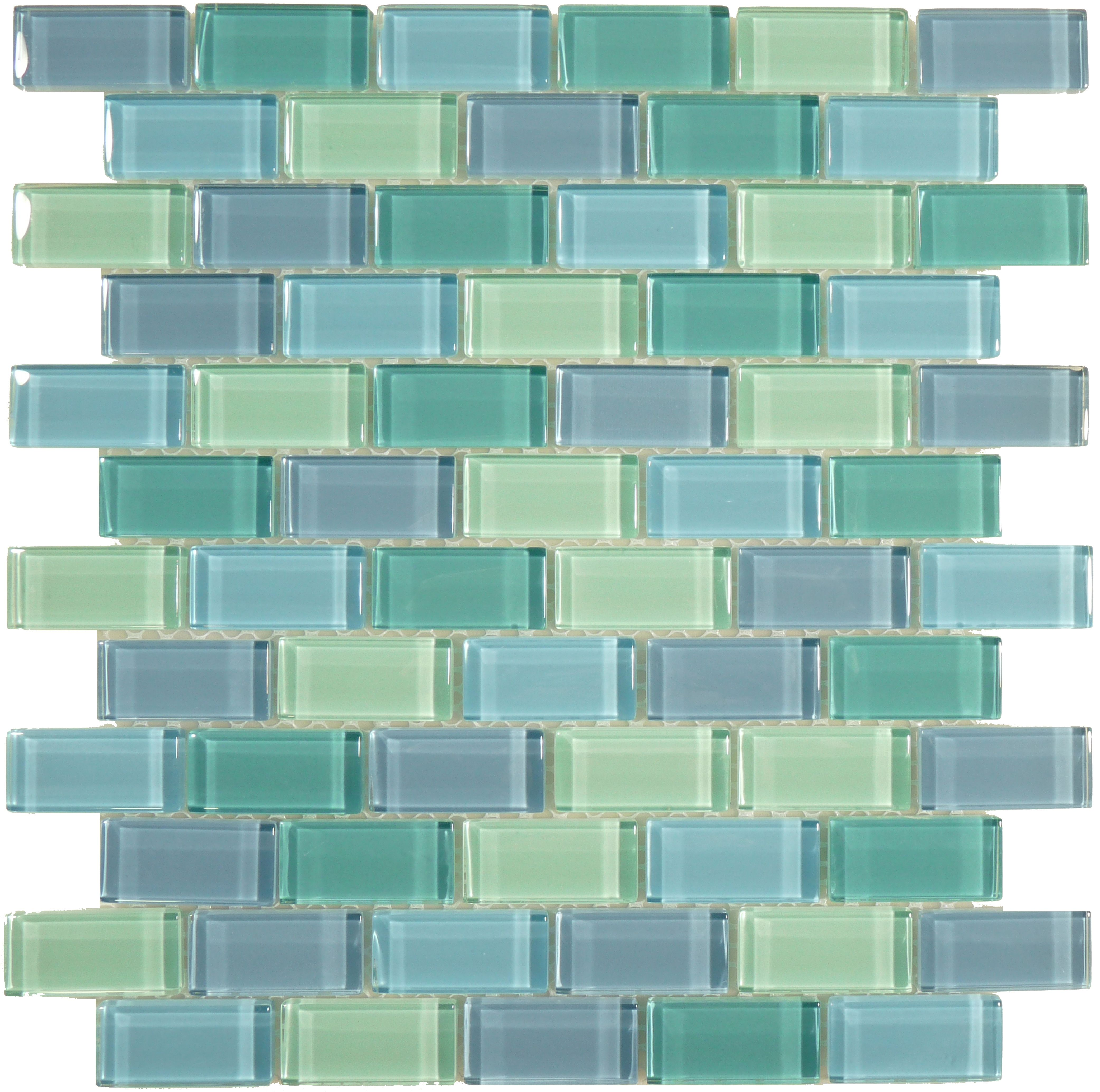 Ocean Pool Mosaic Crystile Blends 1 X 2 Turquoise Blue Blend Glossy Green Glass Green Mosaic Tiles Mosaic Pool Glass Pool Tile