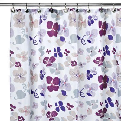 Carnation Home Fashions Joanne 108 Inch X 72 Inch Fabric Shower Curtain Bedbathandbeyond Com Purple Shower Curtain Shower Curtain Fabric Shower Curtains 108 x 72 shower curtains