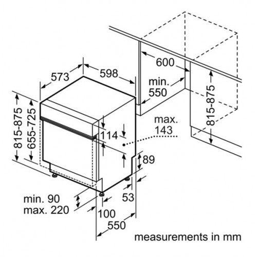 Bosch Smi65n05eu Dimensions Google Search Integrated Dishwasher Bosch Dishwasher
