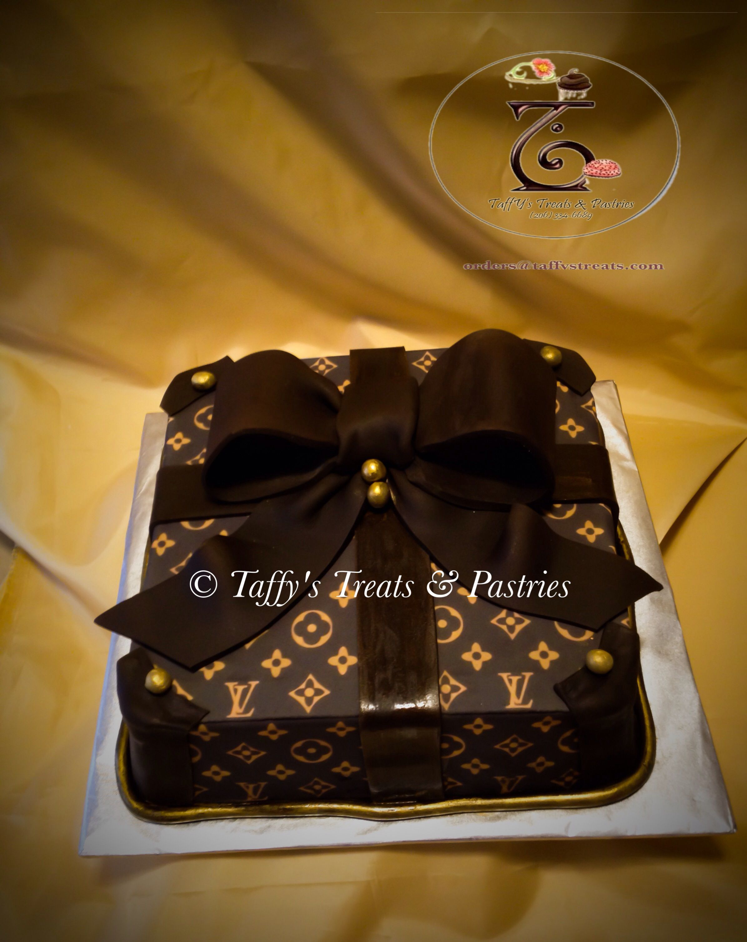 Edible Louis Vuitton Cake