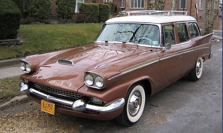 1958 packard station wagon for sale classic car ad from google chrome. Black Bedroom Furniture Sets. Home Design Ideas