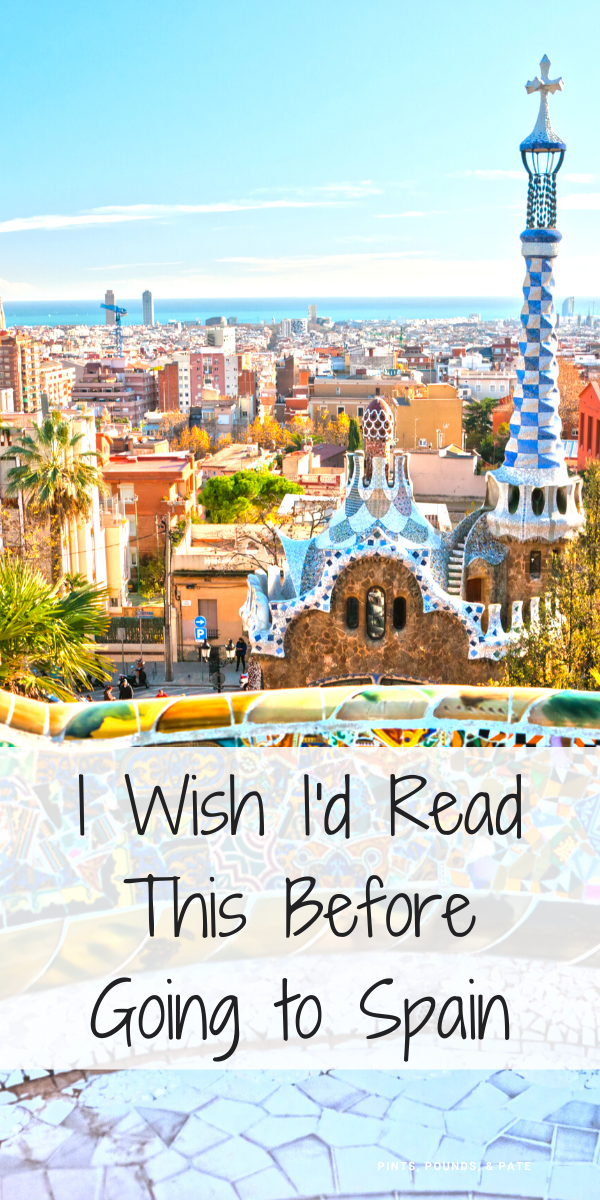 Learn the top 10 things you need to know before visiting Spain, to avoid making common, avoidable tourist mistakes in Madrid and Barcelona #spain #spaintravel #spaintraveltips #europevacationspain #europetravelspain #madrid #barcelona