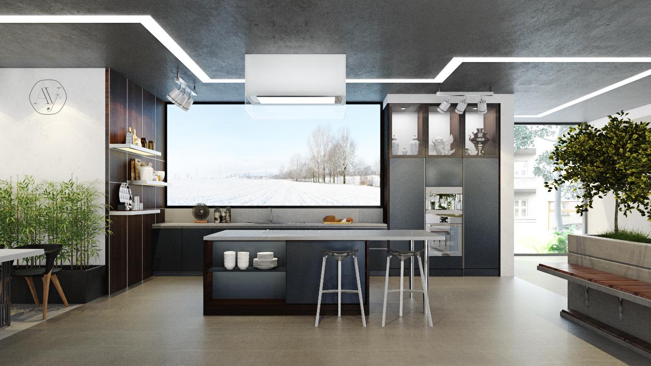 Mẫu tủ bếp đẹp nhất mới nhất hiện nay http://avyinterior.com/