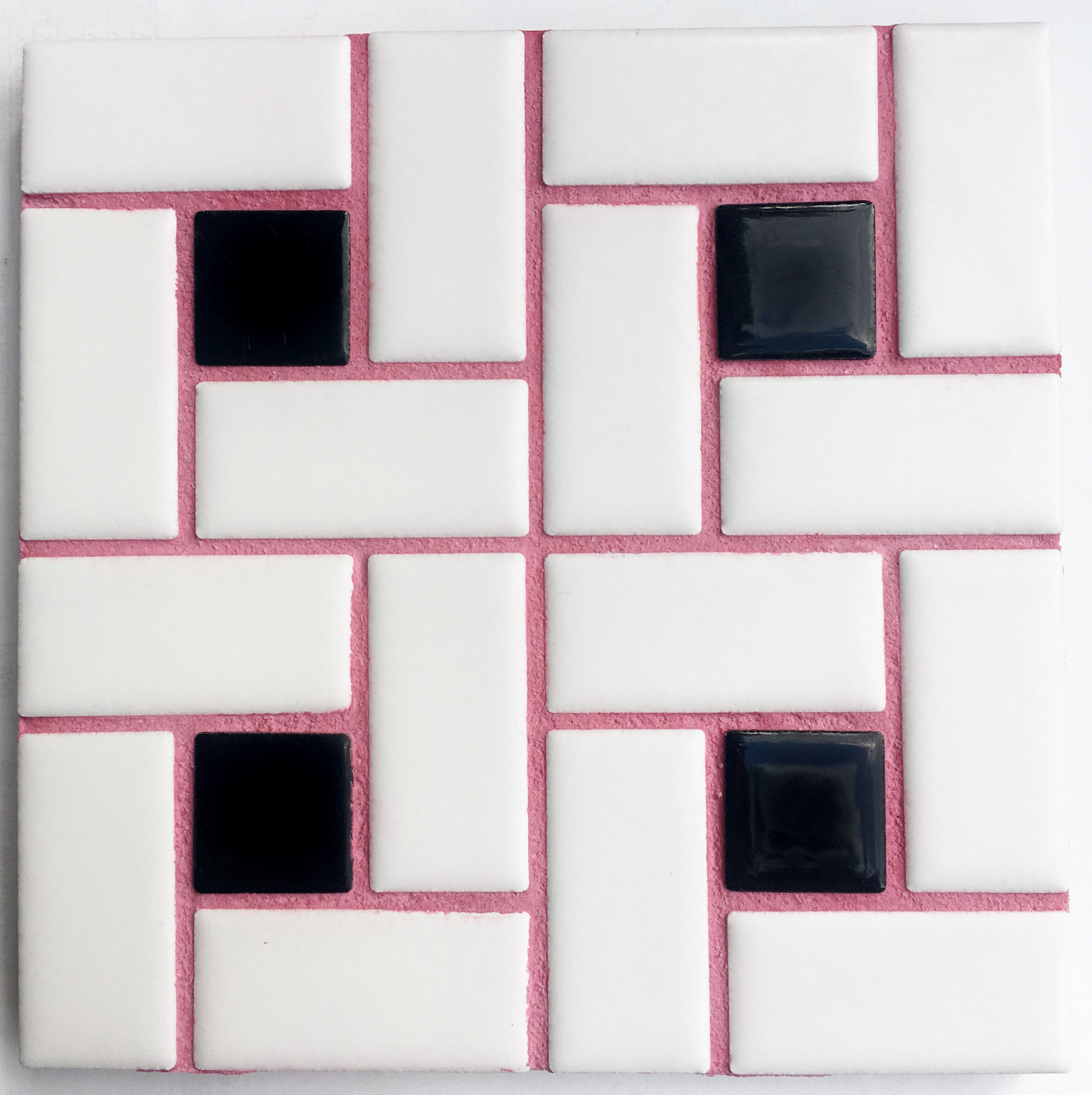 Unsanded Raspberry Gum Tile Grout - Pink/Mauve Grout
