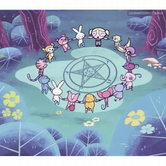 When Te Das Cuenta Que Las Chicas Super Poderosas Eran Satanicas