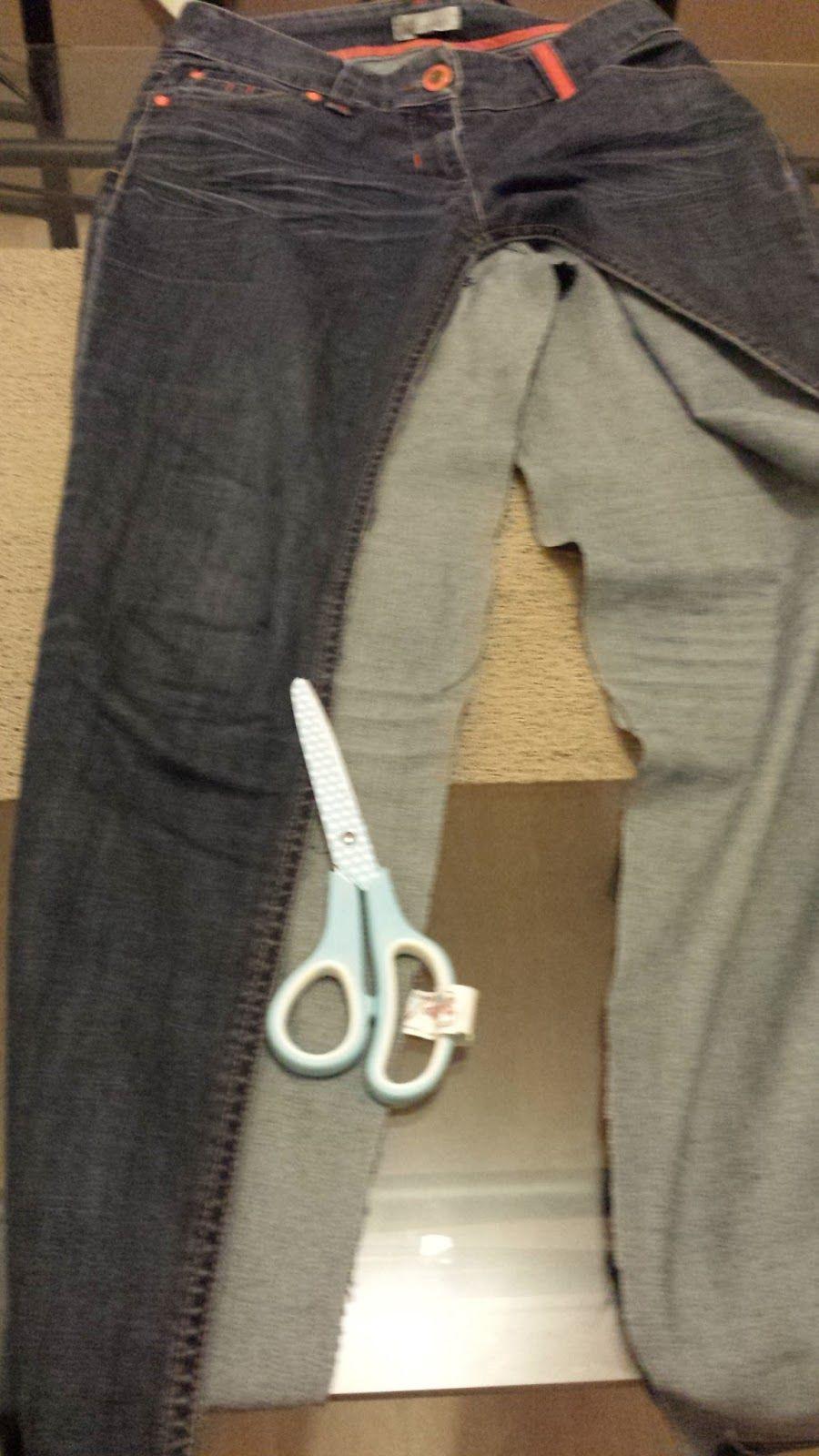 2ede2cd4050 sac en jean fait main