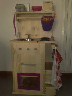 Costruire una cucina in legno giocattolo - Progetto 1 - NannaBoBò ...