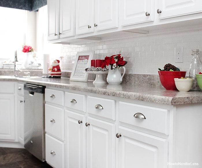 Decorating Kitchen Island Designs Christmas Kitchen Decor Decorated Homes For Christmas 700x583 Christmas Very Small Kitchen Designs Decorations