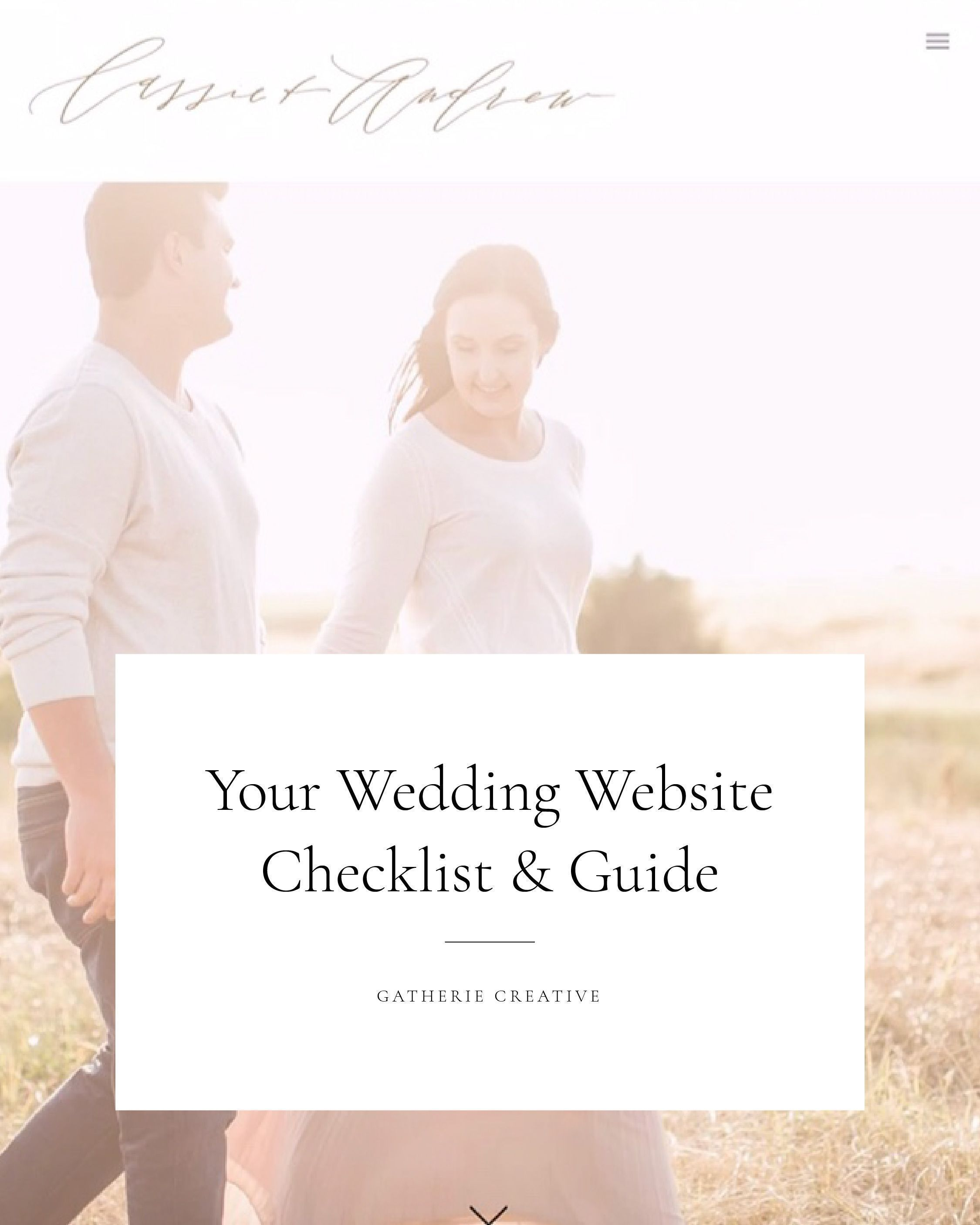 Your Wedding Website Checklist Guide Ideas Wording How To Examples