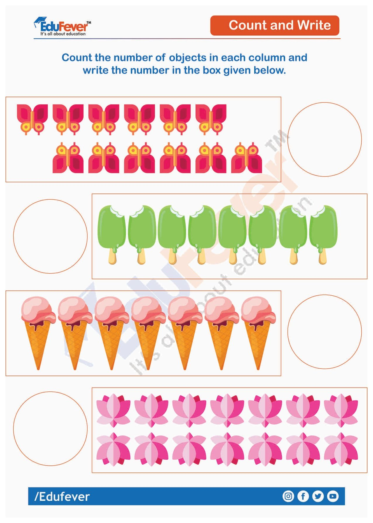 Count And Write Number Ukg Maths Worksheet Kindergarten Math Worksheets Free Math Worksheet Worksheets [ 1792 x 1278 Pixel ]