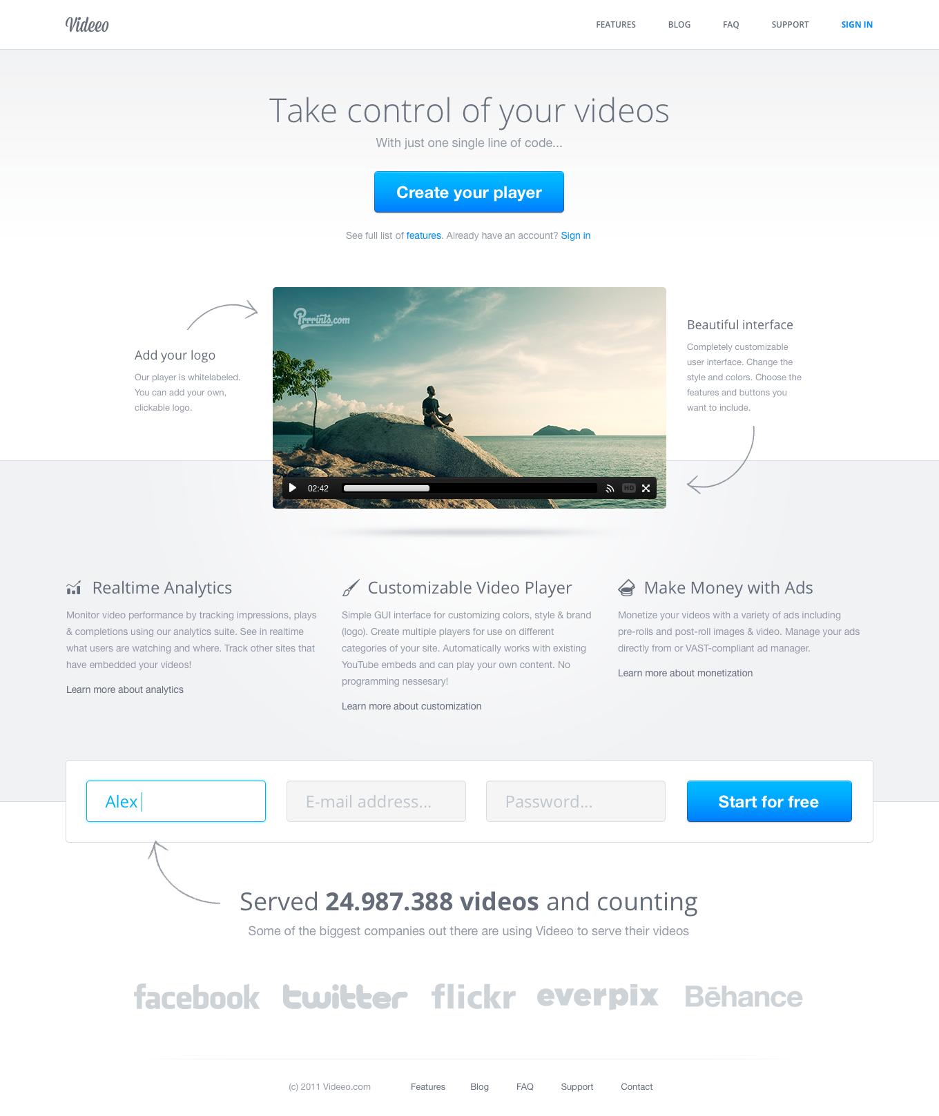 Video Sharing Website Web Development Design Website Design Layout Web Design Inspiration