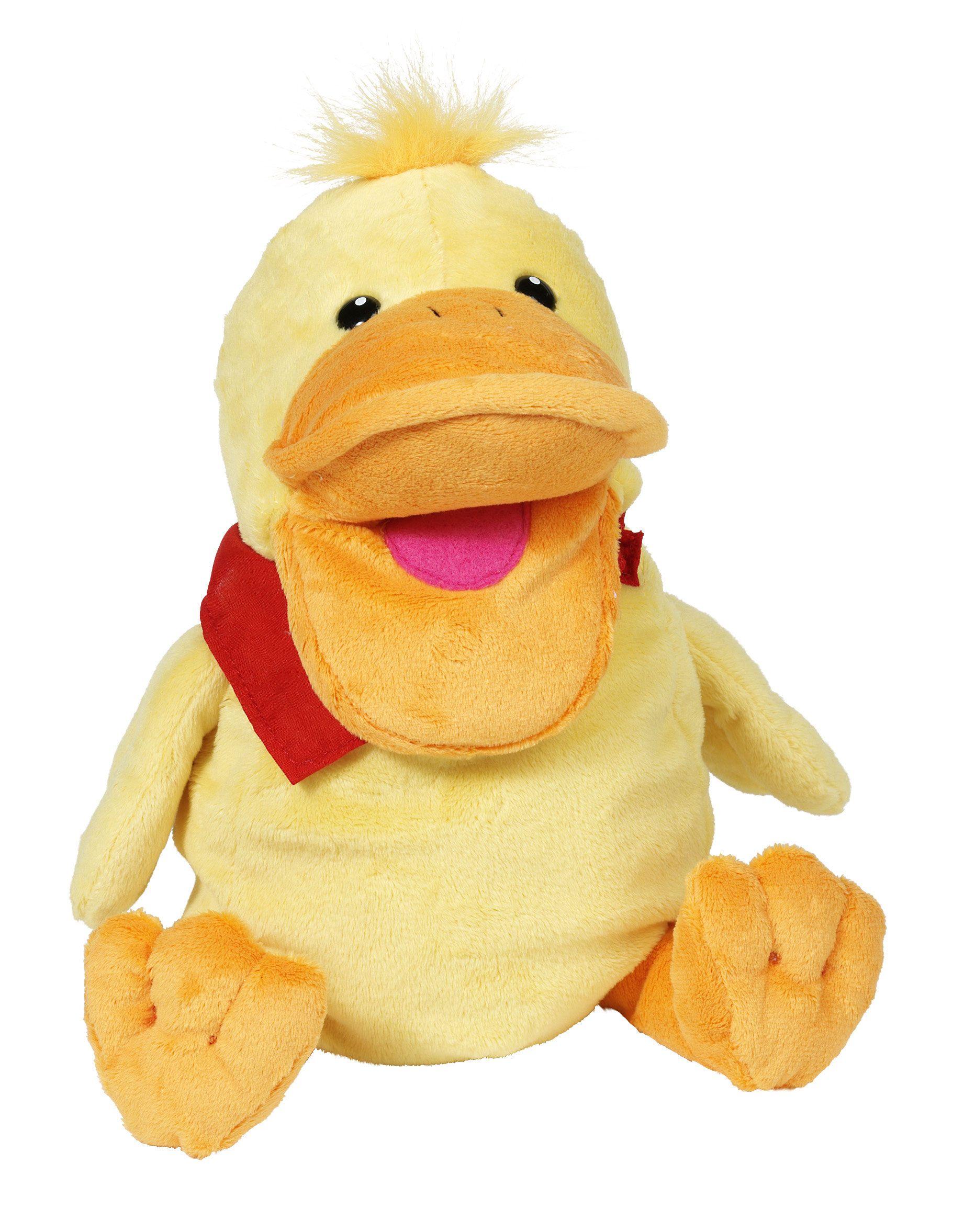 Marioneta de pato