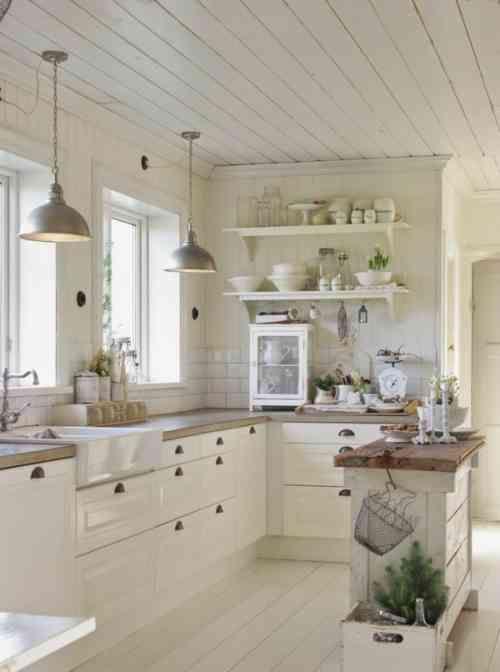 Concevoir une décoration de cuisine campagnarde et élégante | Maggie ...