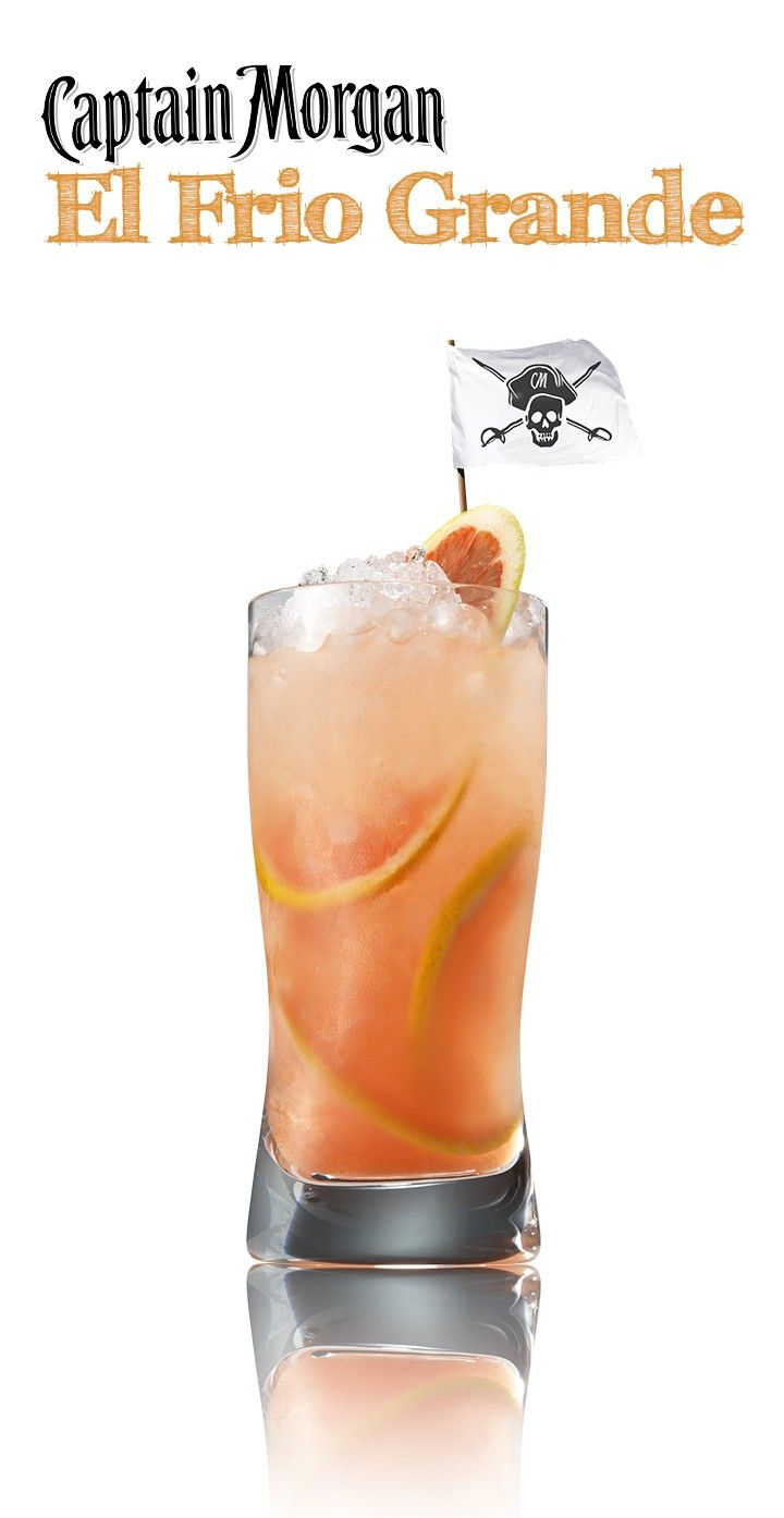 Captain Morgan Grapefruit recipe | Sweet Libations | Pinterest ...