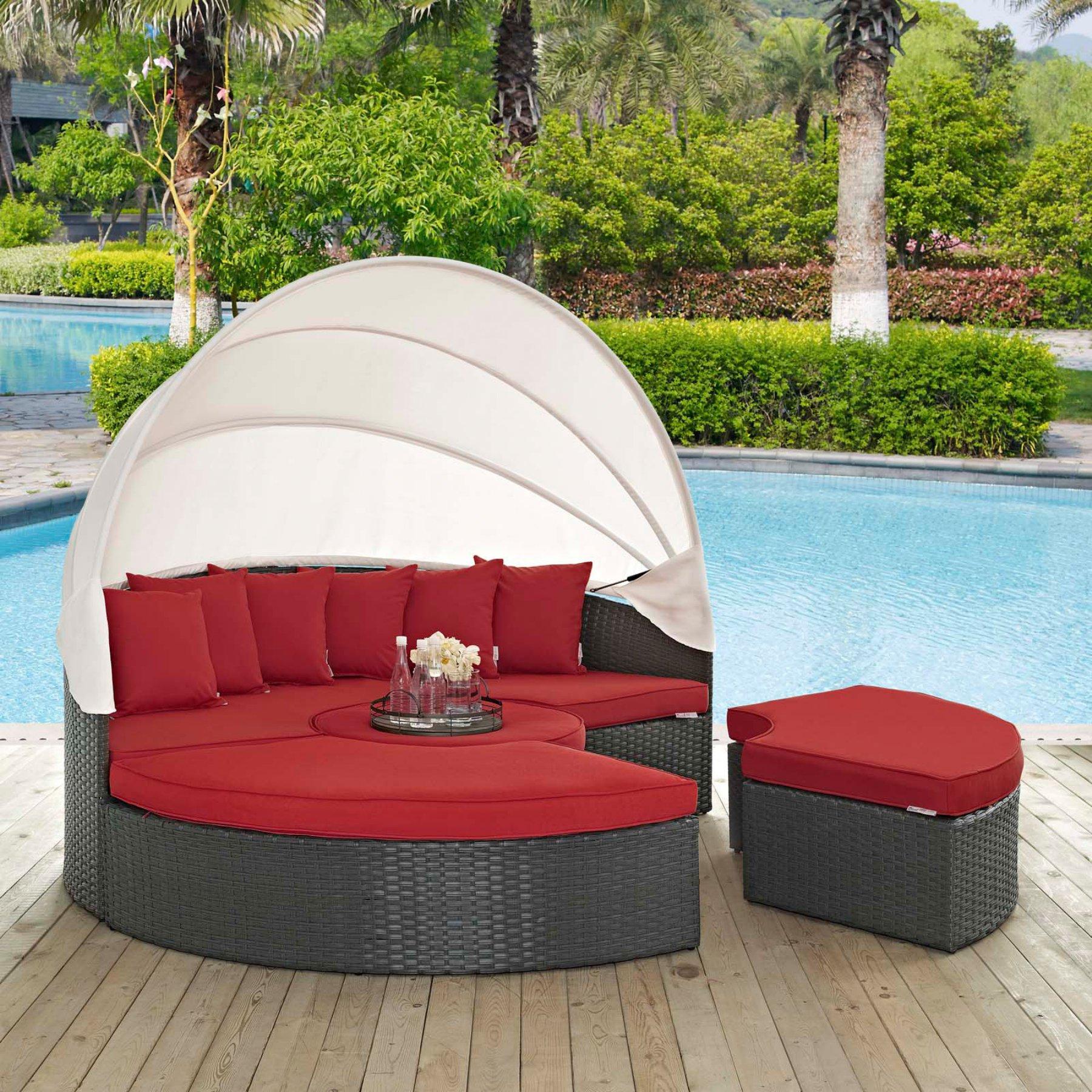 Outdoor Daybed Sunbrella