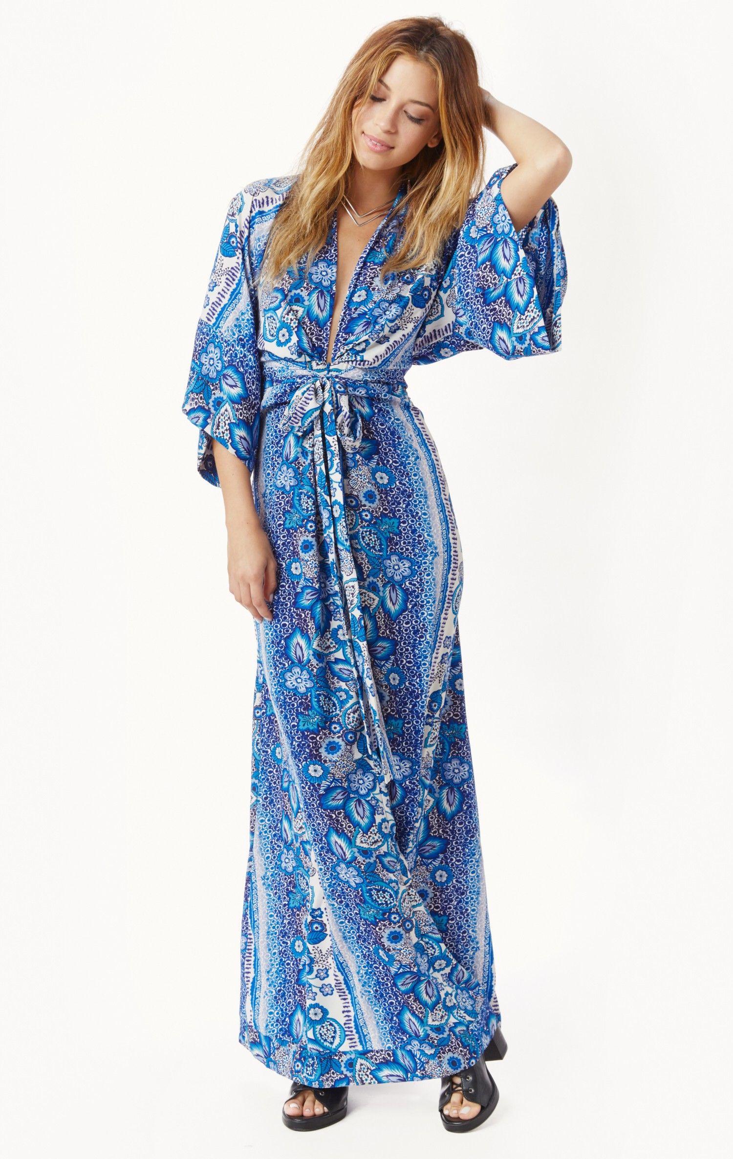 Rosella kimono maxi dress | Kimonos, Maxis and Maxi dresses