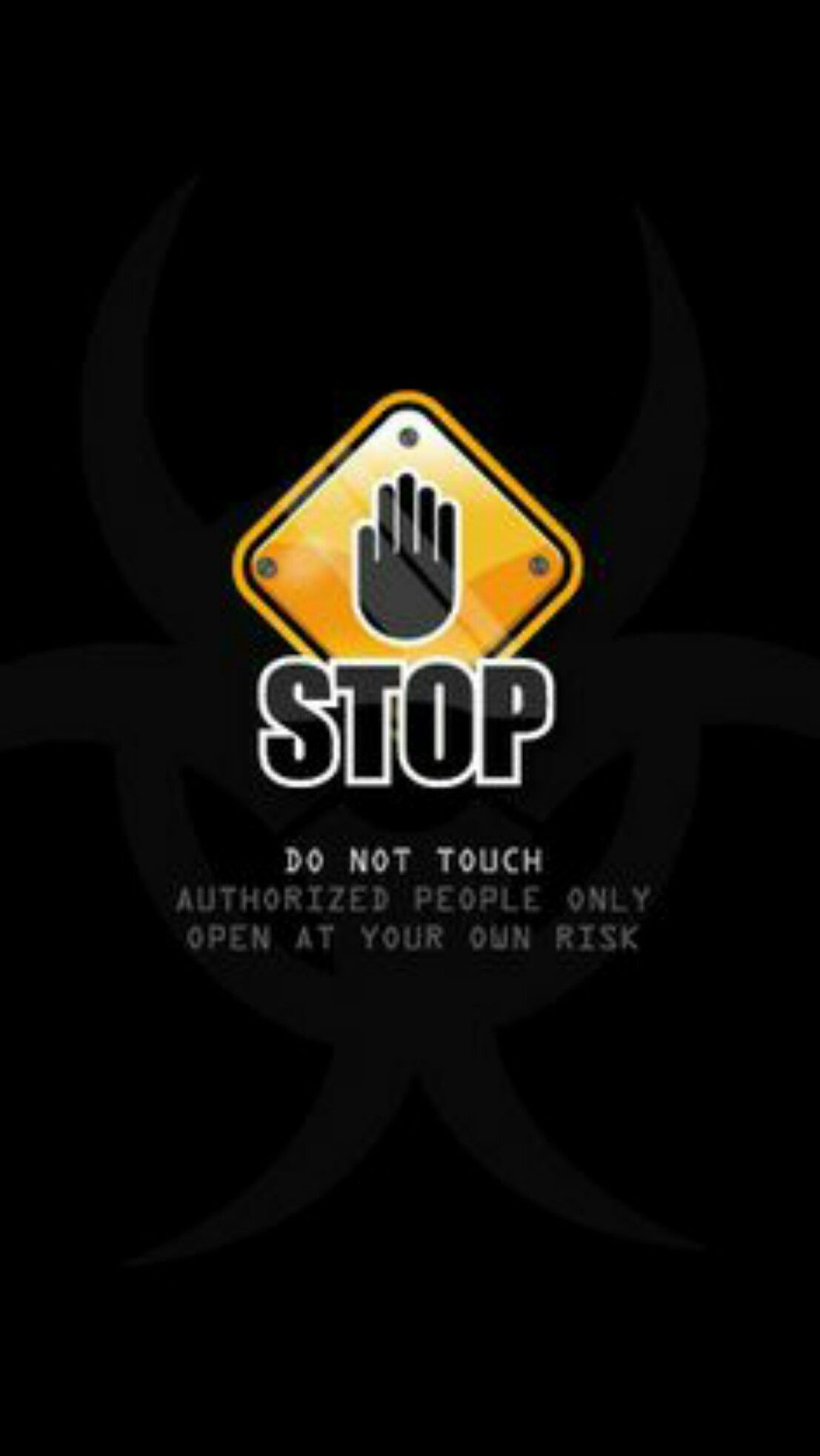 sexy stop black wallpaper android iphone