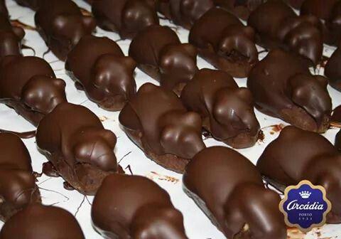 Ratinhos de chocolate