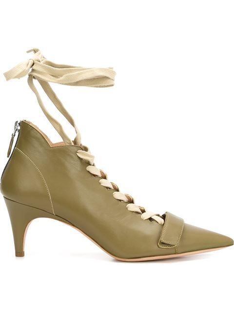 DEREK LAM 'Montparnasse' Booties. #dereklam #shoes #boots