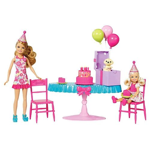Toys R Us Birthday Party : Barbie chelsea birthday party doll playset mattel
