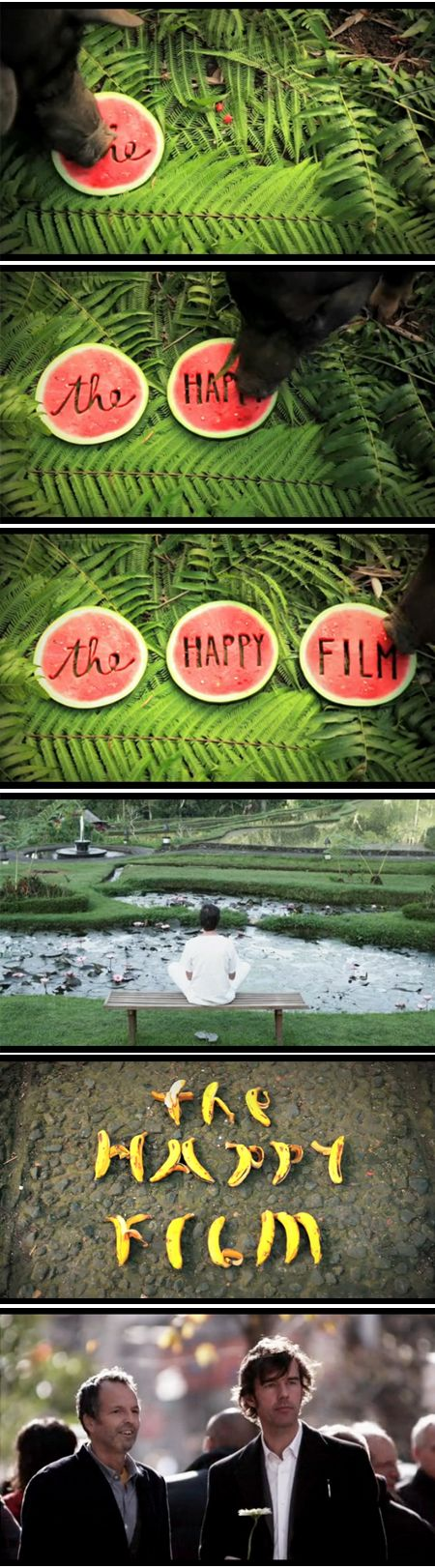 The Happy Film - very neat film screenings with interactive info graphs and installations.