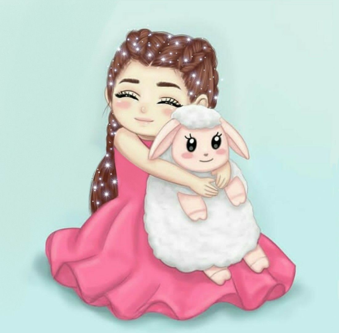 Pin By Sa On My Favs Sheep Cartoon Floral Wallpaper Iphone Diy Eid Gifts