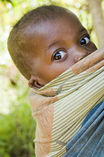 Eyes . Nkuthanguwo village, Malawi.