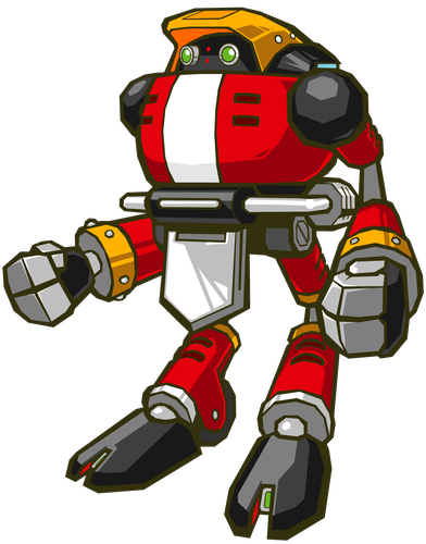 E 102 Gamma From Sonic The Hedgehog Sonic Sonic The Hedgehog Robot Design