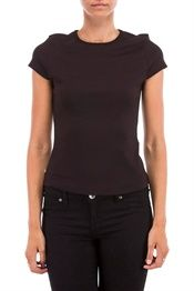 Benedikte Utzon eksklusiv basis t shirt sort | Tøj og Kvinder