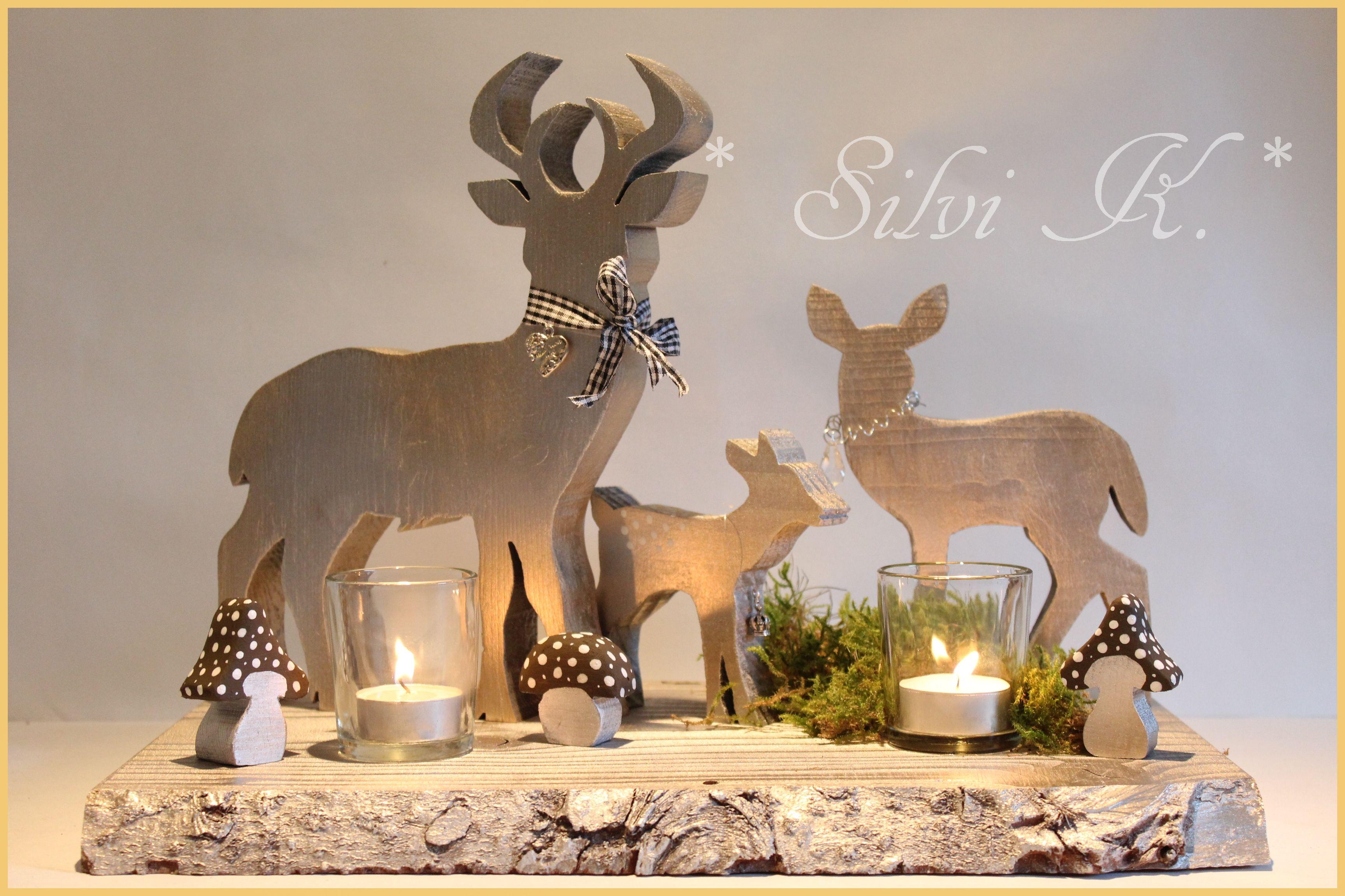 pin von silvi k auf silvi k rustikale weihnachten. Black Bedroom Furniture Sets. Home Design Ideas