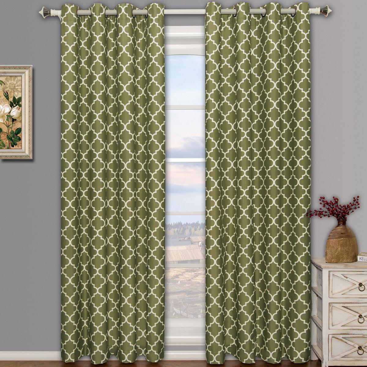 Window decor diy  meridian room darkening grommet top window curtain drapes thermal