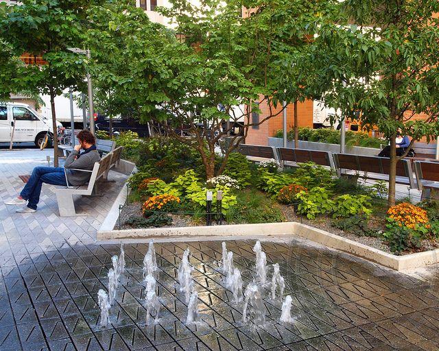 POPS040A: Public Plaza, 8 Spruce Street - Beekman Tower ...