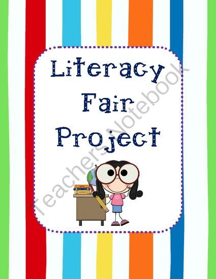 Literacy Fair Project Teaching Pinterest Fair projects - science project report