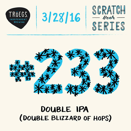 mybeerbuzz.com - Bringing Good Beers & Good People Together...: Troegs Releases Scratch # 233 Double Blizzard of H...