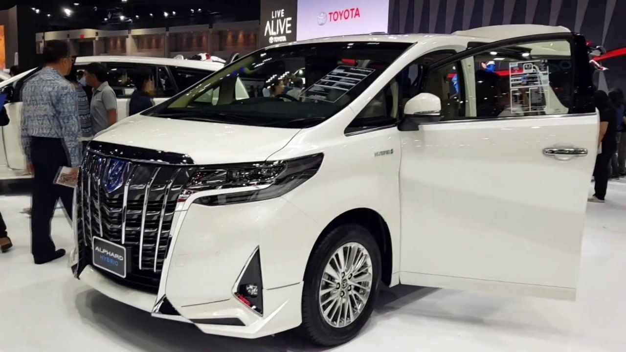 Top 2020 Toyota Alphard Towing Capacity First Drive
