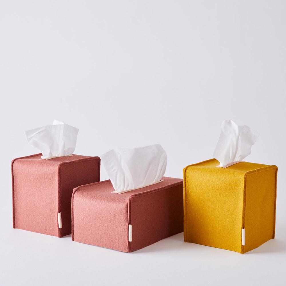Felt Tissue Box Cover Tissue Box Covers Box Covers Diy Tissue Boxes
