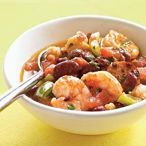 How to Cook Creole Shrimp and Sausage Stew Video | MyRecipes.com