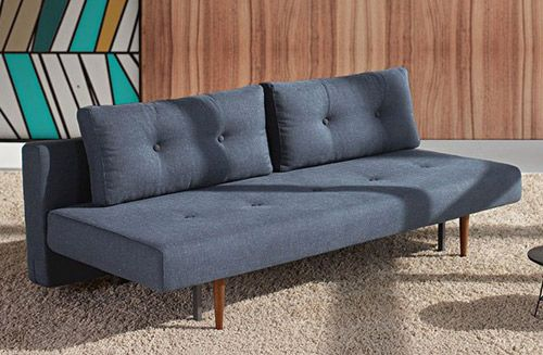 Scandinavian style recast sofa bed at one deko ideas for Scandinavian sofa bed