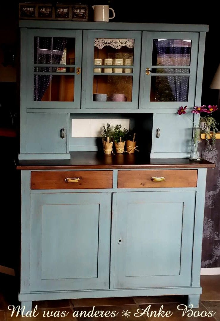 Ein wunderschönes,schnörkelloses Küchenbuffet aus Friesland - Shabby ...
