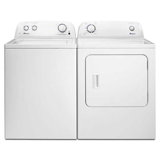 Amana Electric Washer And Dryer Set White Electric Washer