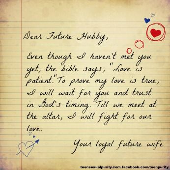 dear husband letter dear future hubby stay loyal this teen sexual 21317