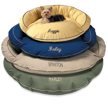Monogrammed dog beds :) | (For the Southern Pup ...
