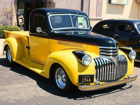 1946 Chevy Pickup Truck Old Pickup Trucks Chevy Trucks 1946 Chevy Truck