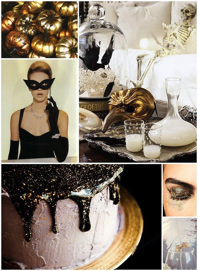 Linen, Lace, Love: Glam Halloween inspiration